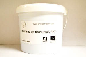 Lecithine Tournesol Bio Seau de 1.5 kg